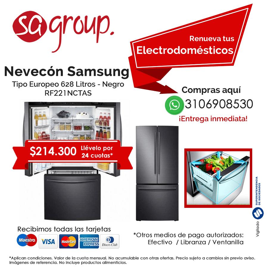 SA Group - Línea de electrodomésticos